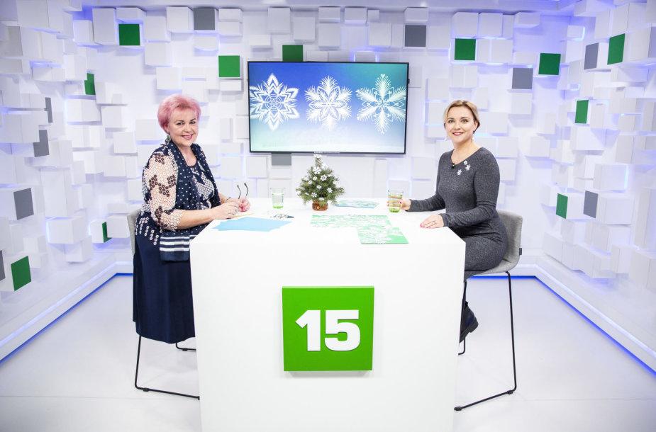 15min studijoje – tautodailininkė Kristina Stasė Mažukaitienė ir žurnalistė Aušra Filipavičiūtė-Navikauskė