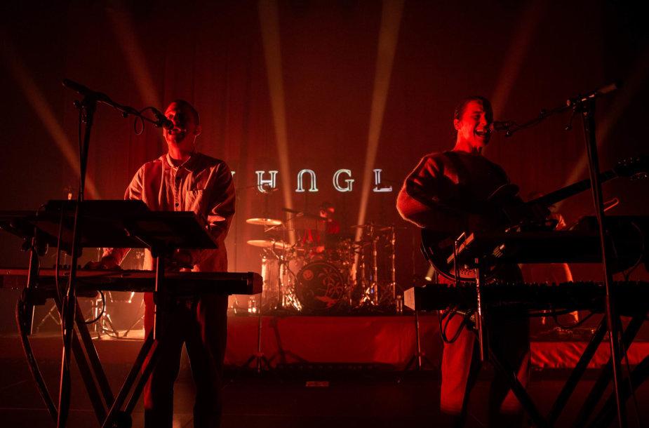 """Jungle"" koncerto akimirka"
