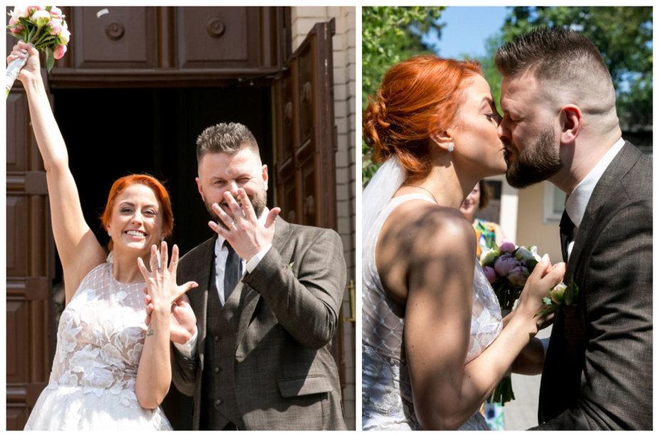 Julijos Jegorovos ir jos mylimojo Karolio vestuvės