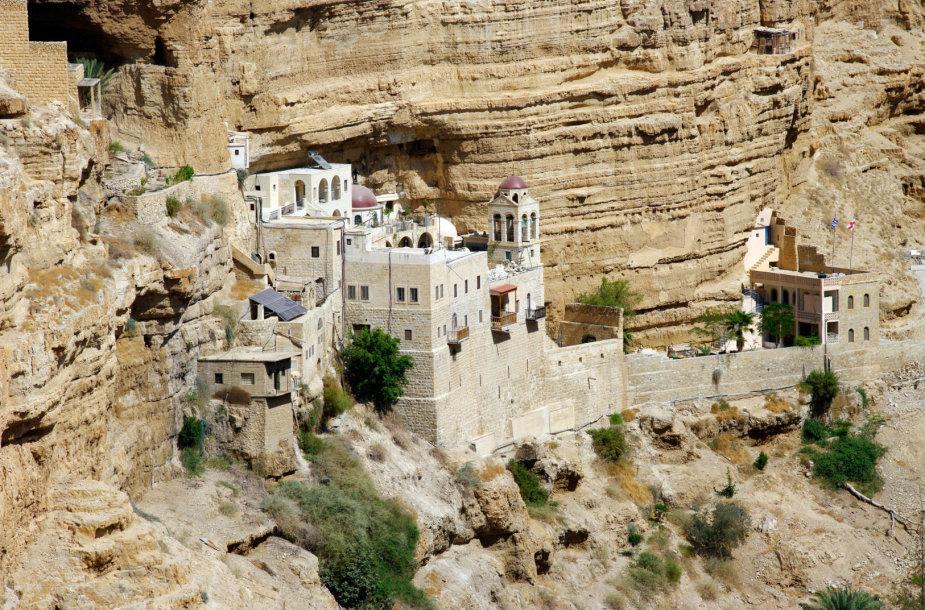 Šv. Jurgio ortodoksų vienuolynas, Palestinos teritorija, Izraelis