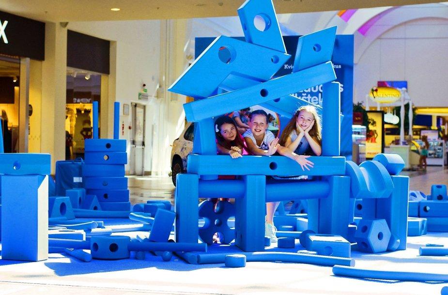 Vaizduotės aikštelė prekybos centre