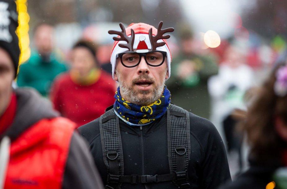 Kalėdinis bėgimas 2018