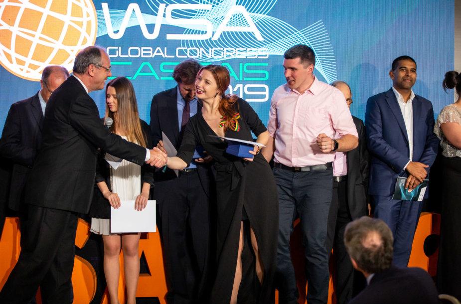 """Projekto """"Kompiuteriukai vaikams"""" vykdytojai apdovanojami renginyje """"World Summit Awards"""""""