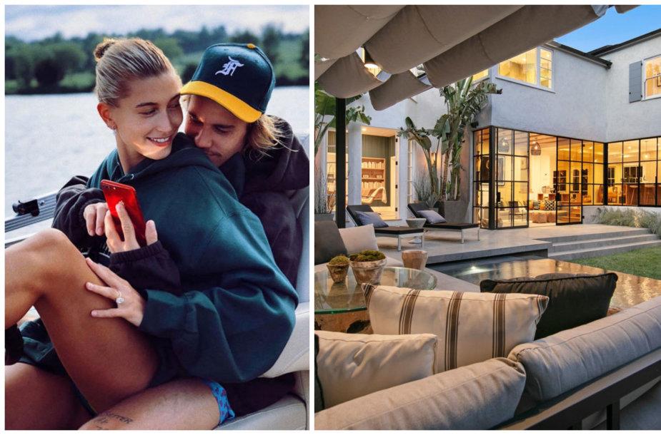 Hailey Baldwin ir Justinas Bieberis netrukus įsikels į naujus namus