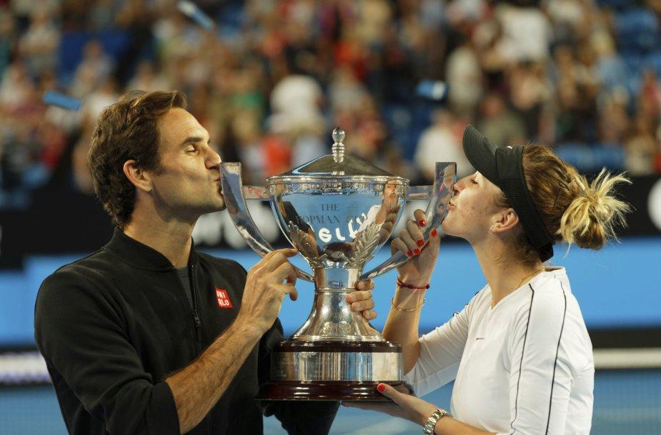 Rogeris Federeris ir Belinda Benčič