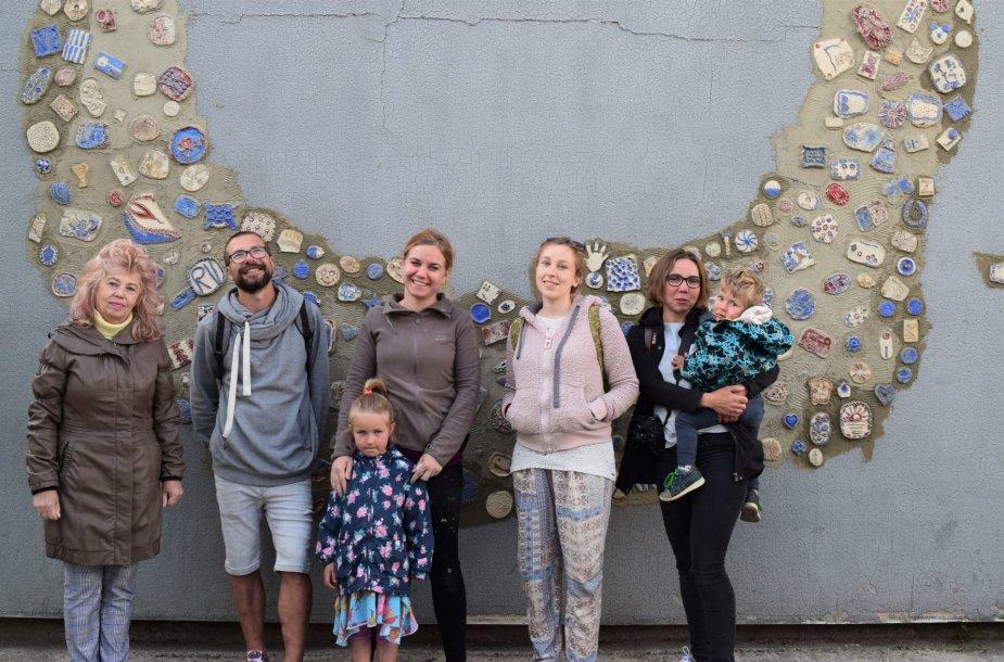 Kaune, Eigulių mikrorajone pristatyta bendruomenės sukurta mozaika