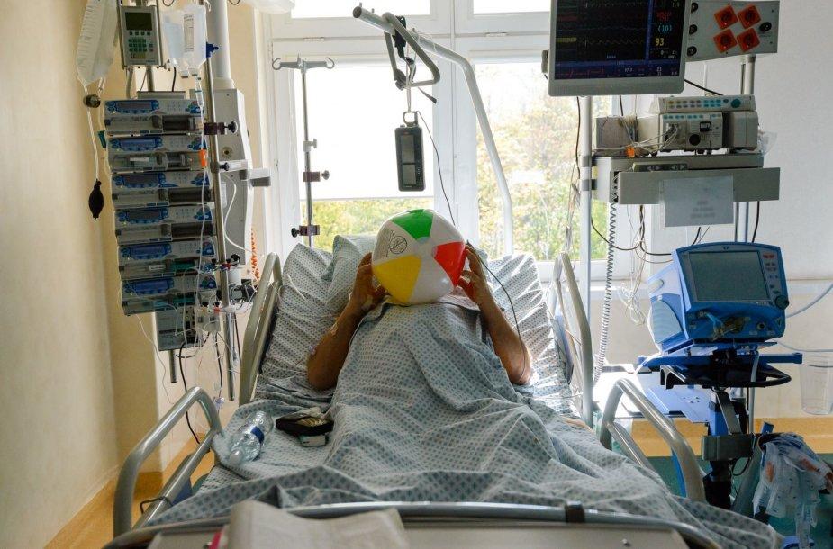 Santaros klinikų Reanimacijos ir intensyvios terapijos skyrius