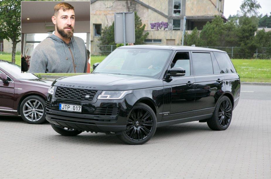 Jono Valančiūno automobilis