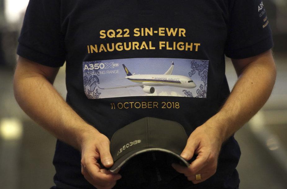 Prasidėjo ilgiausias skrydis pasaulyje