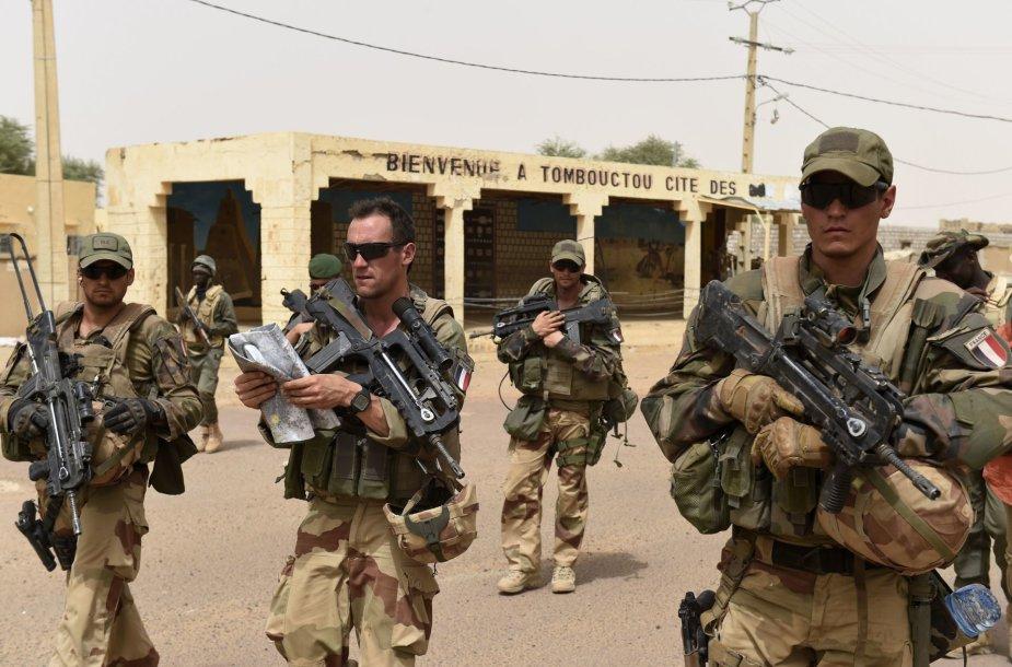 Prancūzijos kariai Malyje