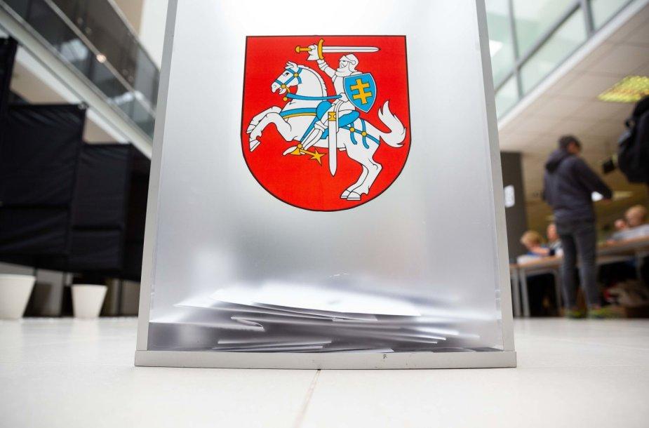 Lietuvoje prasidėjo išankstiniai rinkimai