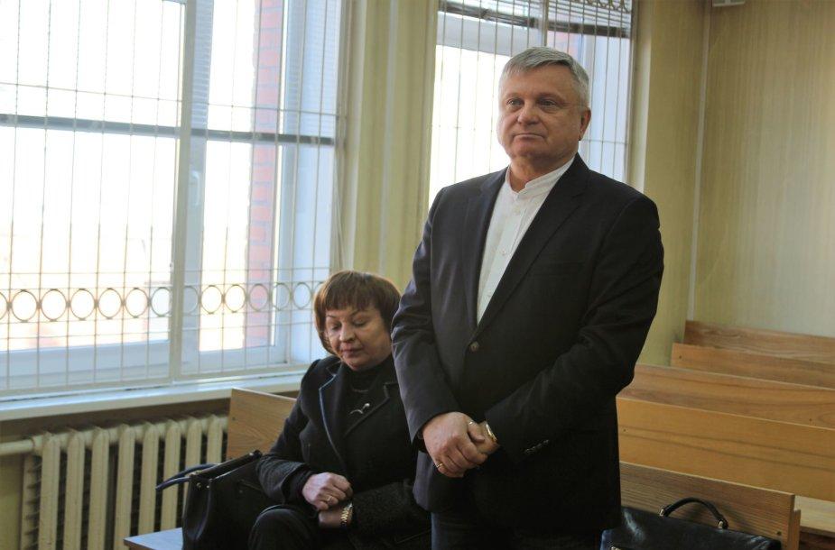 R.Aliukonienė ir A.Cicėnas