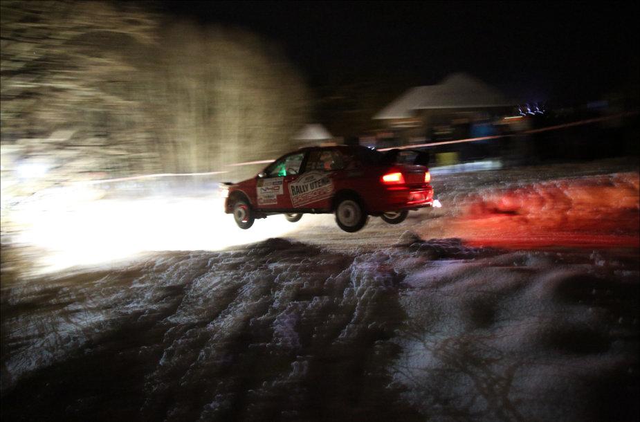 """Natiniai """"Winter rally"""" ruožai"""