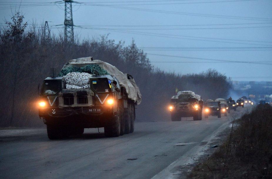 Ukrainos pajėgos
