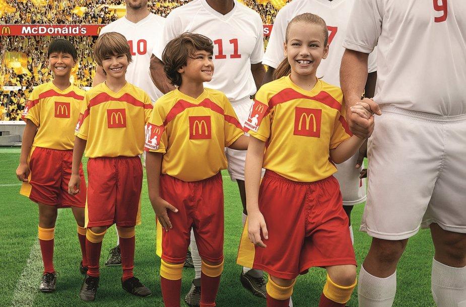 Vaikai stadione