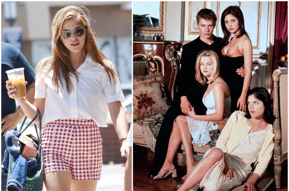 """Selmą Blair išgarsino 1999-ųjų filmas """"Erotiniai žaidimai"""" (nuotraukoje dešinėje ji sėdi ant žemės)"""