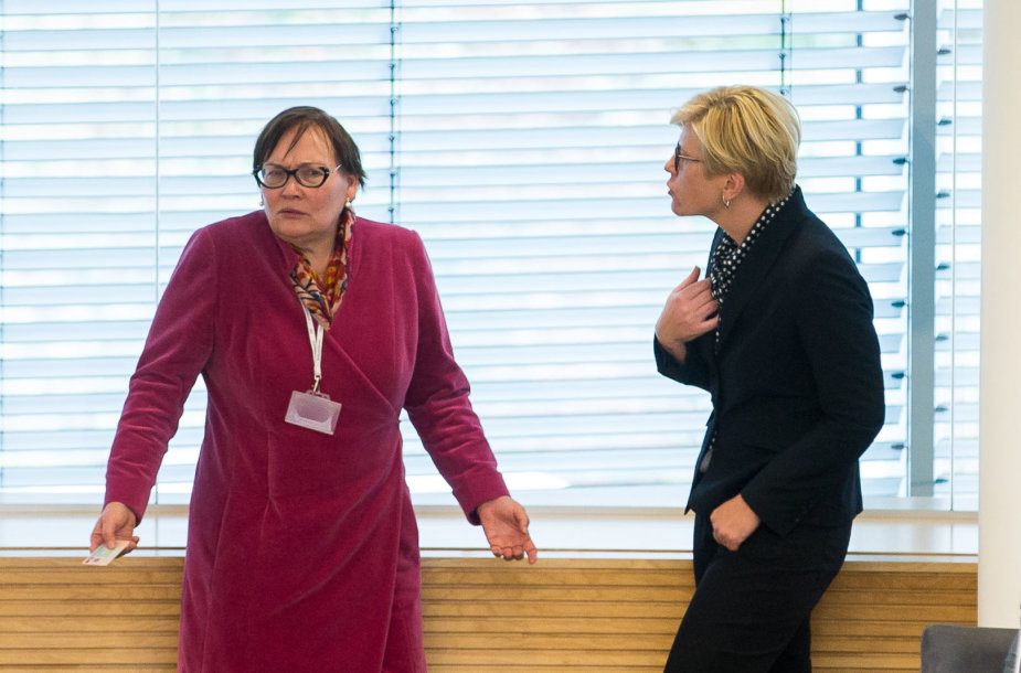 Aušra Maldeikienė ir Ingrida Šimonytė