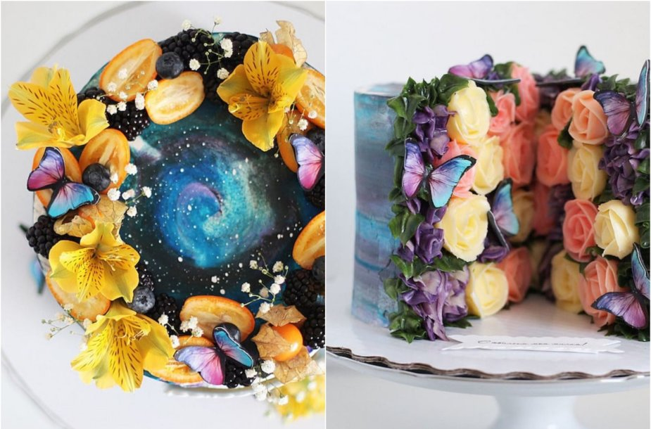 Konditerės iš Maskvos kurti tortai