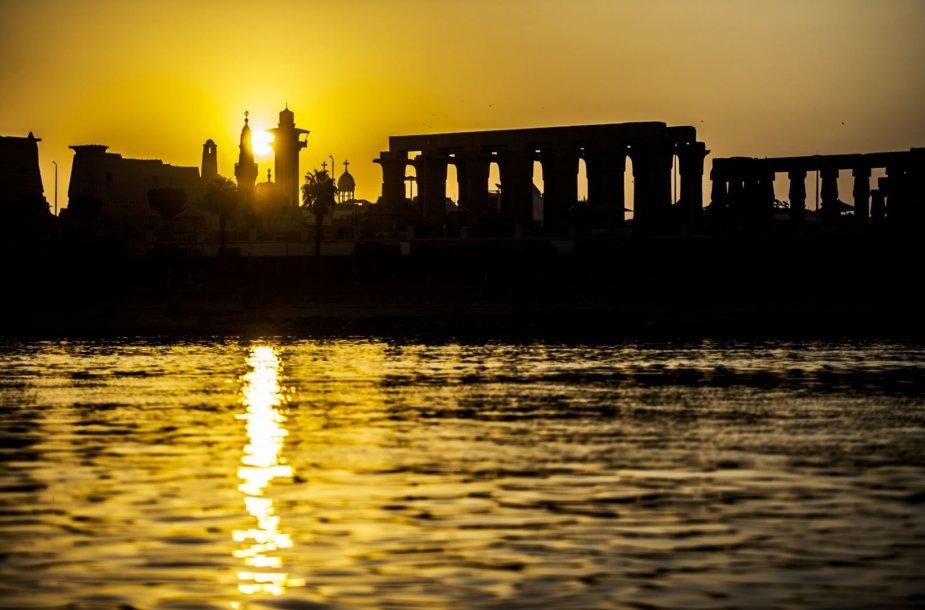 Nilas ir žaliosios jo pakrantės