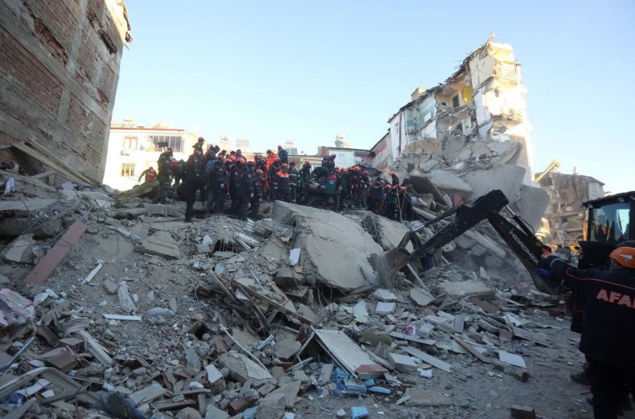 Žemės drebėjimas Turkijoje