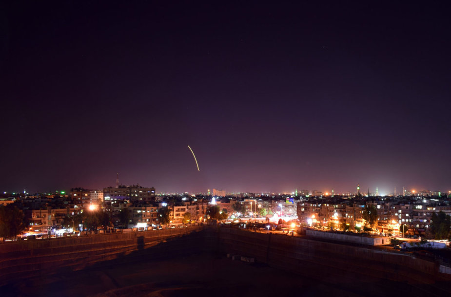 Izraelio smūgis Damasko oro uostui