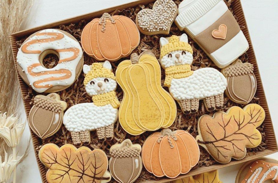 Spalvoti sausainiai