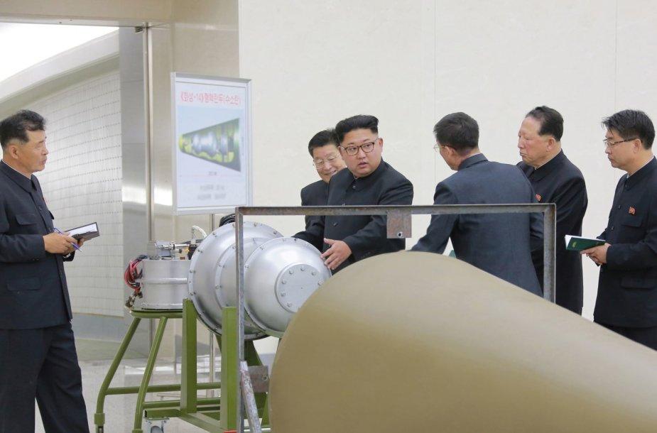 Šiaurės Korėja atliko šeštąjį branduolinį bandymą