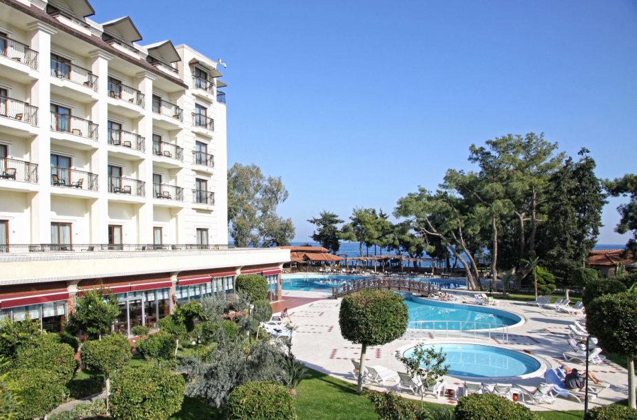 Penkių žvaigždučių viešbutis Turkijoje