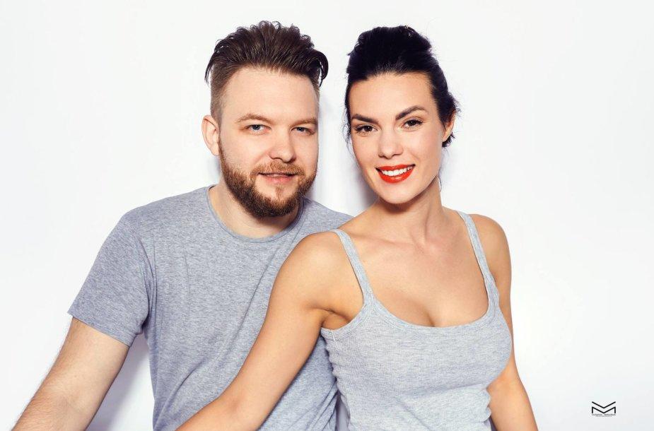 Arvydas Martinėnas-Vudis ir Sandra Stučinskaitė