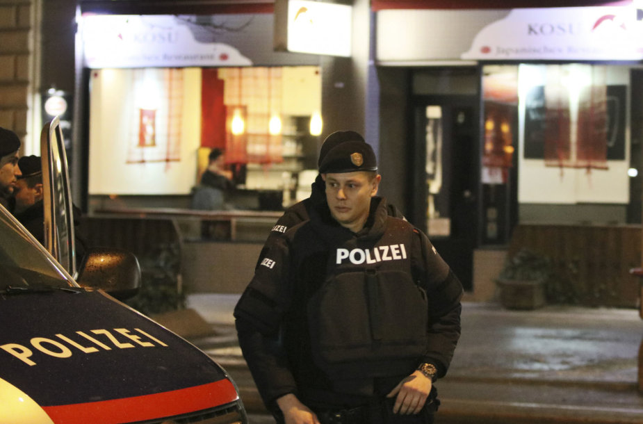Austrijos policija