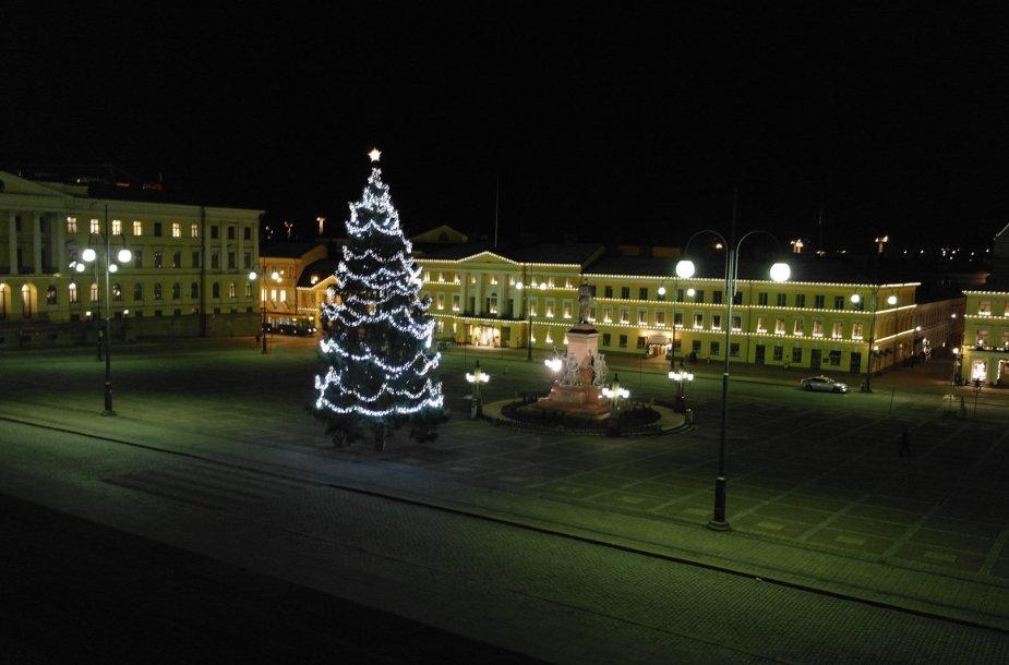 Helsinkio vitrinos