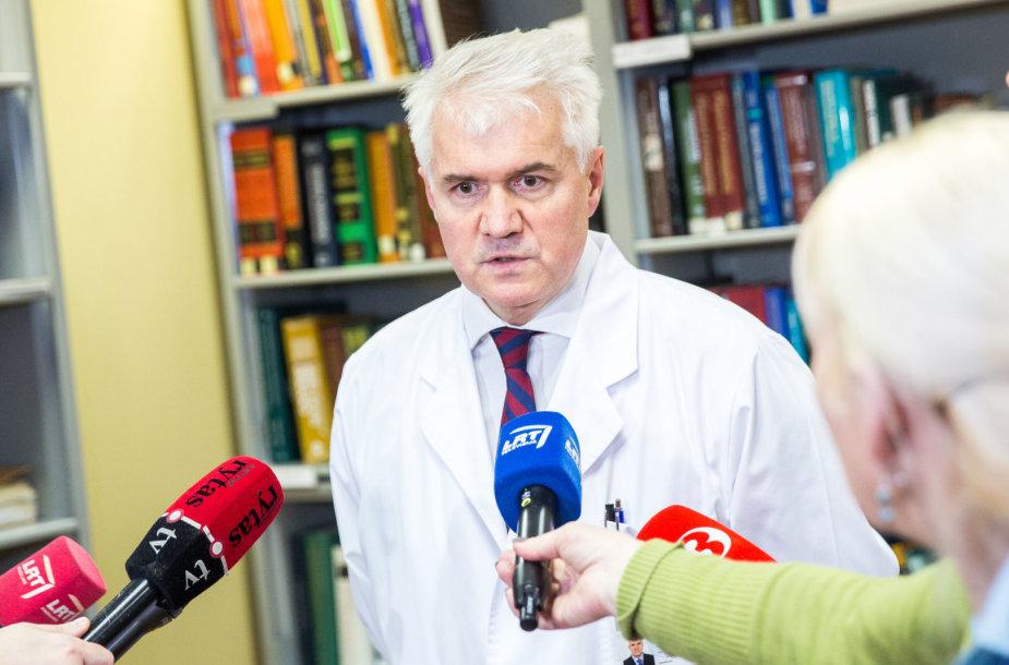 Respublikinės Vilniaus universitetinės ligoninės direktorius dr. Algimantas Pamerneckas