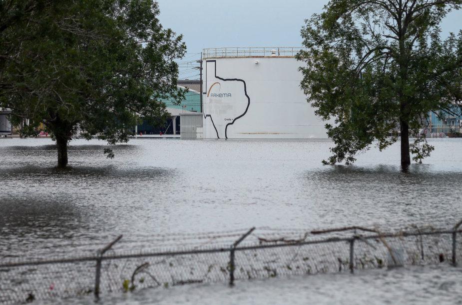 Teksase netrukus sprogs chemijos gamykla