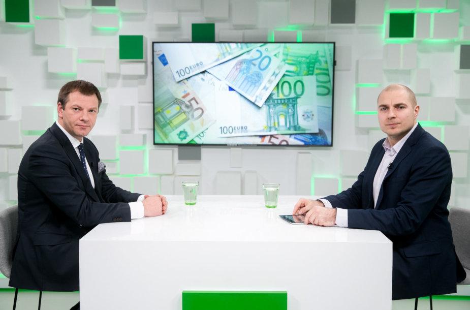 Vilius Šapoka ir Ernestas Naprys
