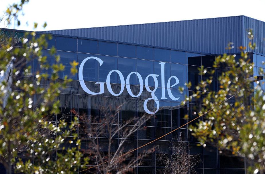 """""""Google"""" būstinė JAV Kalifornijos valstijoje"""