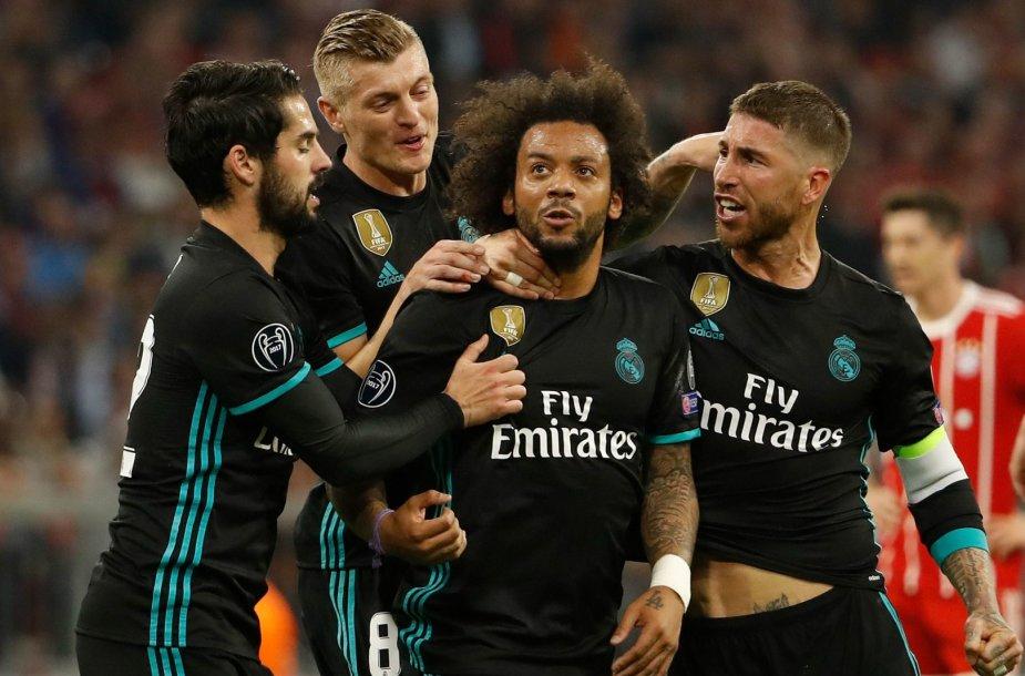 """Miuncheno """"Bayern"""" – Madrido """"Real"""""""