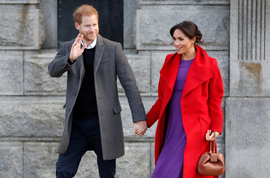 Princas Harry ir Sasekso hercogienė Meghan