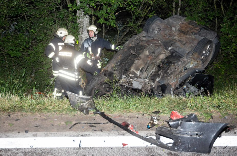 Tragiška pasibaigusi avarija Vilniaus rajone