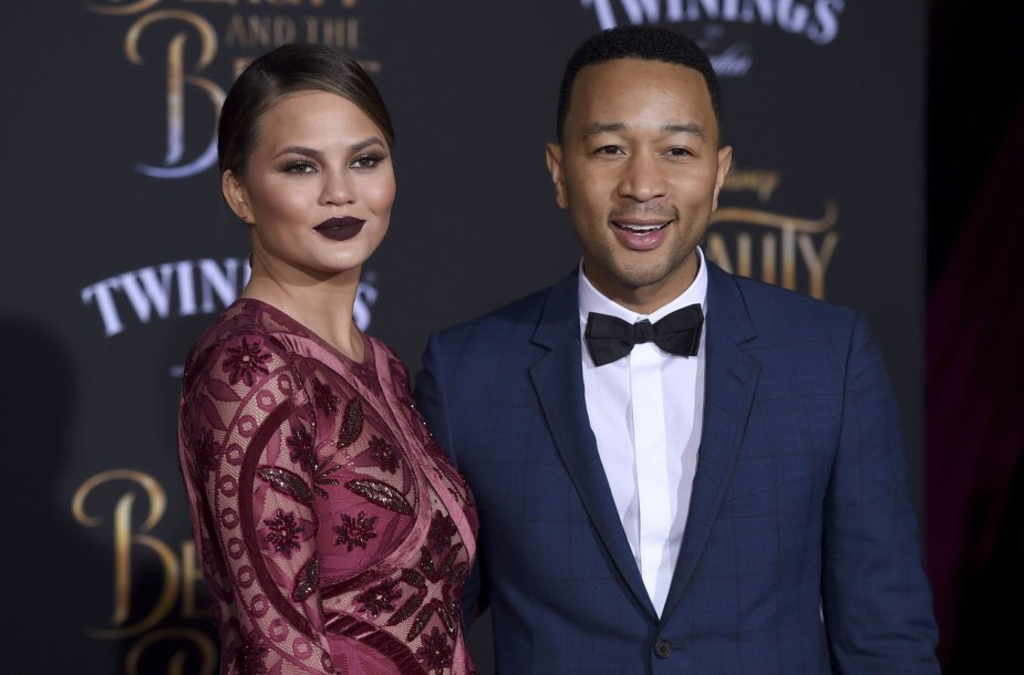 Chrissy Teigen ir Johnas Legendas