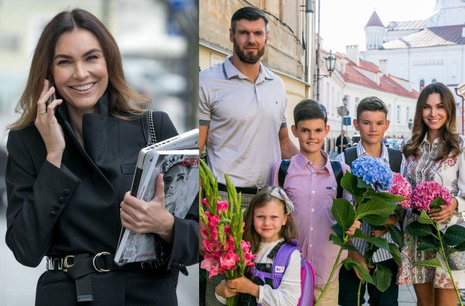 Tatjana Lavrinovič su šeima
