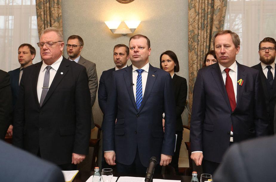 LR Vyriausybės posėdis