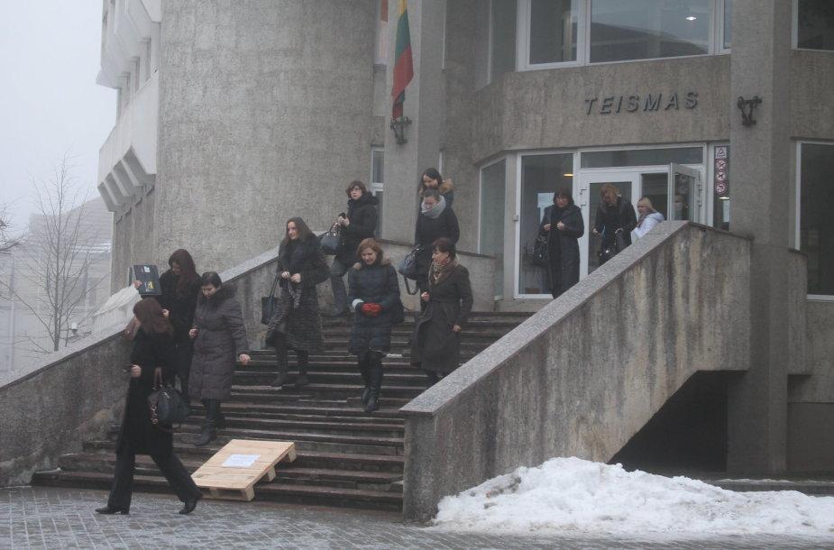 Panevėžio apylinkės teismo evakuacija