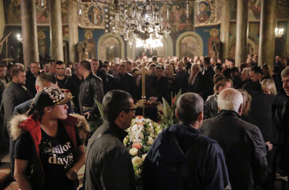 Viktorijos Marinovos laidotuvės