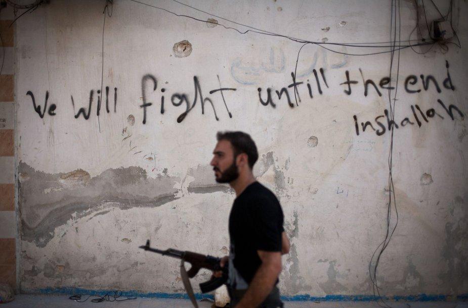 Sukilėlis Sirijoje
