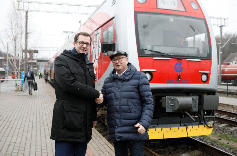 Mantas Bartuška ir Visvaldas Matijošaitis