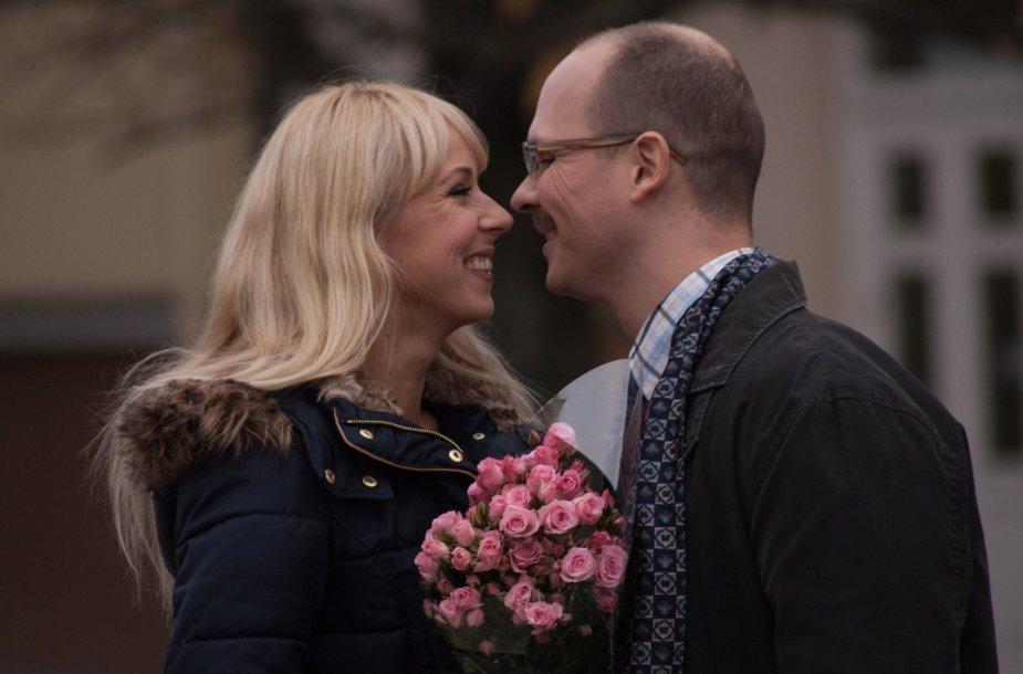 Ineta Stasiulytė ir Audrius Bružas
