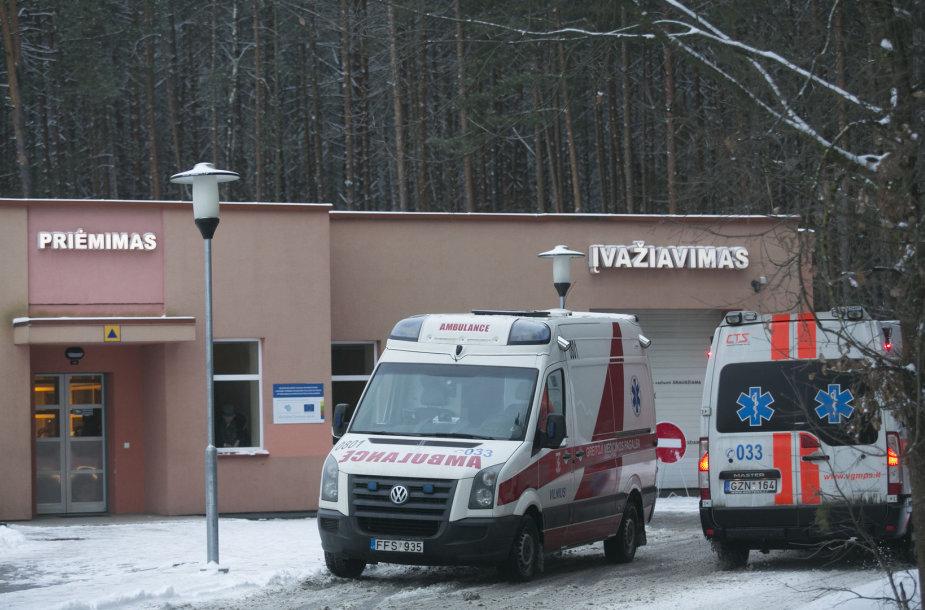 Vilniaus Lazdynų ligoninės traumatologijos priimamasis