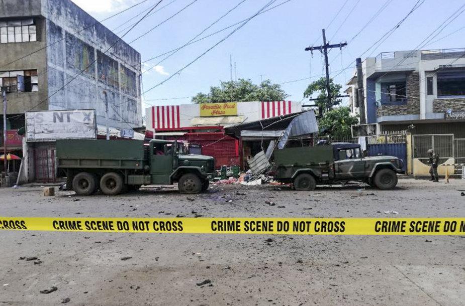 Atakos vieta Filipinuose