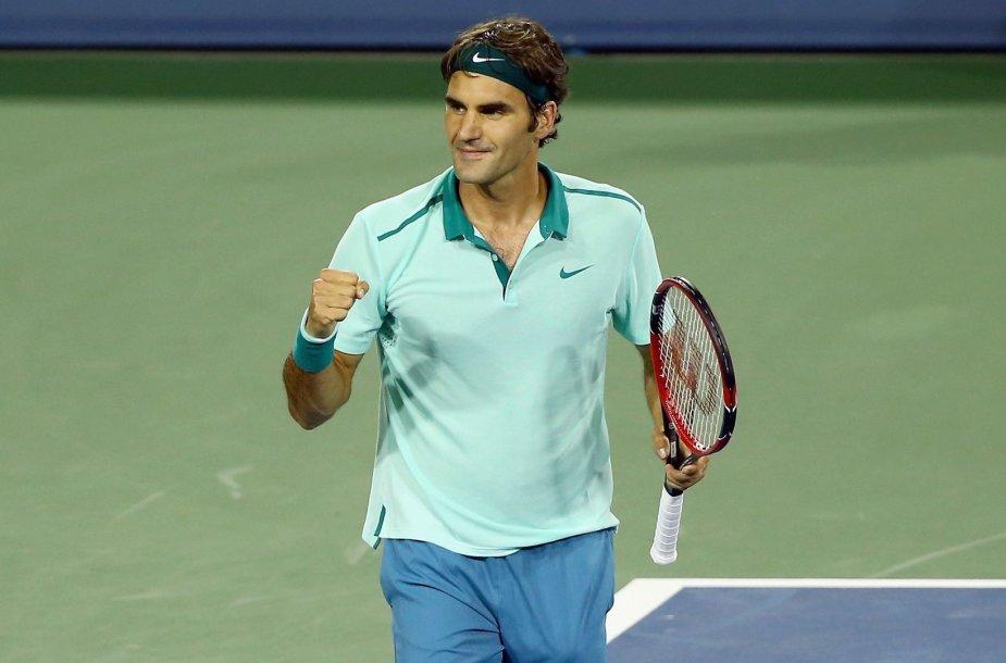 Rogeris Federeris siekia šešto Sinsinačio čempiono titulo