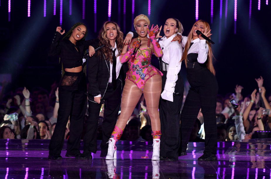 """Little Mix"" ir Nicki Minaj"
